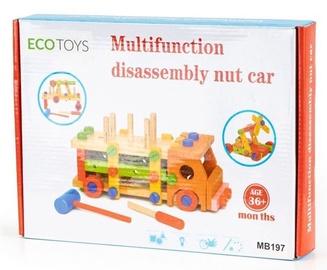 EcoToys Multifunction Disassembly Nut Car 58pcs