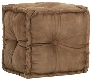 Пуф VLX Pouffe 248110, коричневый, 40 см x 40 см x 40 см