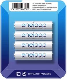 Panasonic Eneloop HR03 AAA x 4 BK-4MCCE/4LE 750 mAh