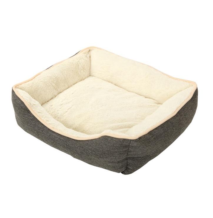 Кровать для животных, серый/песочный, 550 мм x 400 мм