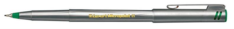 Geelpliiats Luxor 7161-64-7163/0,5 mm roheline