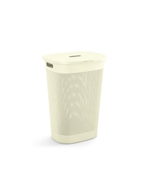 KIS Filo Laundry Hamper With Lid 55l White