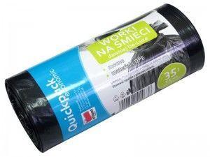 Atkritumu maisi Vigo Quickpack Economic Trash Bags 35L 15pcs Black