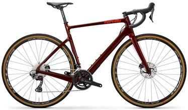 Carvelo Aspero Disc GRX Bike Burgundy/Dark Orange
