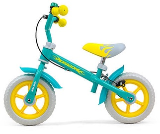 Milly Mally DRAGON Balance Bike With Brake Mint