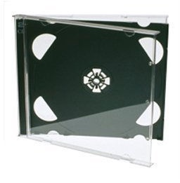 Esperanza 3018 CD Case Double 200 pcs Black