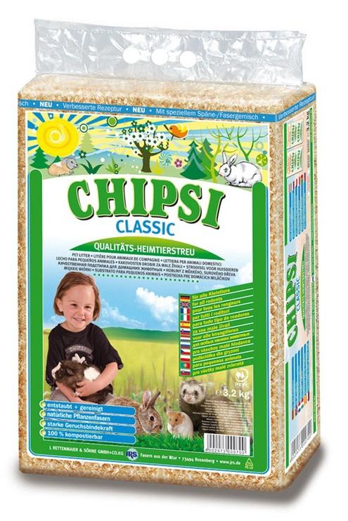 Naminių gyvūnų pakratas Chipsi Classic, 60 l, 3.2 kg