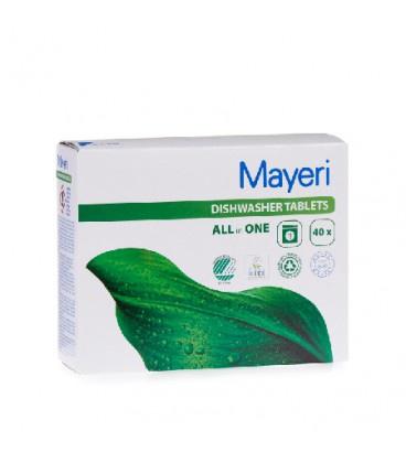 Капсулы для посудомоечной машины Mayeri All in 1, 40 шт.