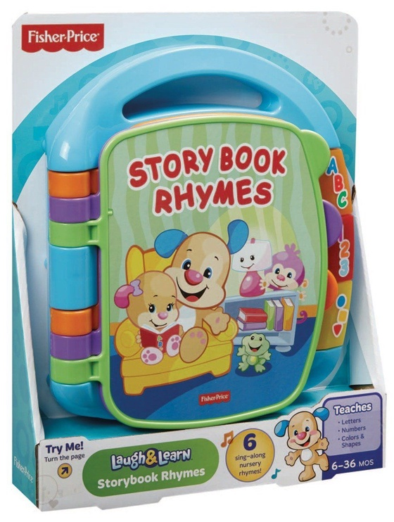 Fisher Price Storybook Book Rhymes LAT DKK20