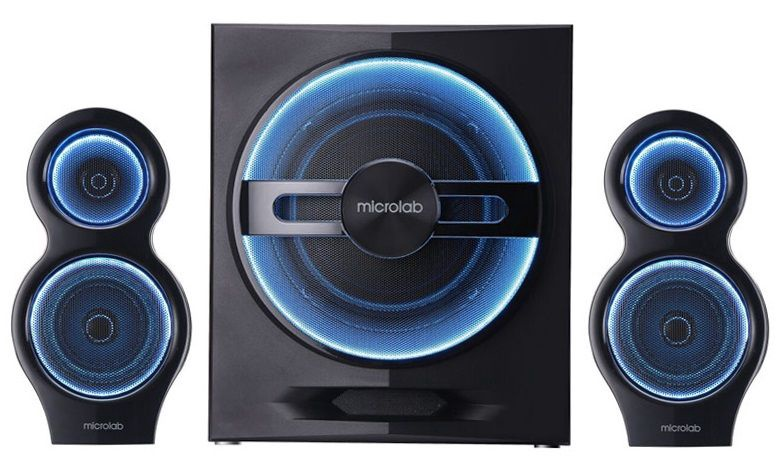 Microlab T10 2.1 Gaming Bluetooth Speakers