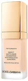 Dolce & Gabbana Matte Liquid Foundation SPF20 30ml 60