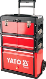 Yato Tool Box With Weels 3pcs YT-09102