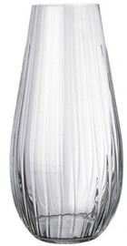 Bohemia Vase Waterfall Corrugated 30.5cm