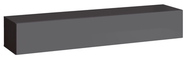 TV galds ASM Switch RTV 1 Graphite, 1800x400x300 mm