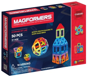 Magformers Rainbow 50pcs Set 701006