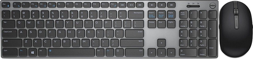 DELL KM717 Wireless Keyboard ENG Grey