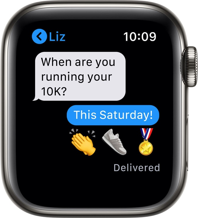 Умные часы Apple Watch Series 6 GPS LTE 40mm Stainless Steel, черный