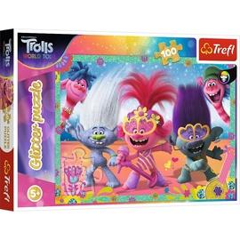 Puzle Trolls Glitter 14822, 100 gab.