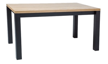 Signal Meble Imperial Oak Table 180x90cm Oak/Black