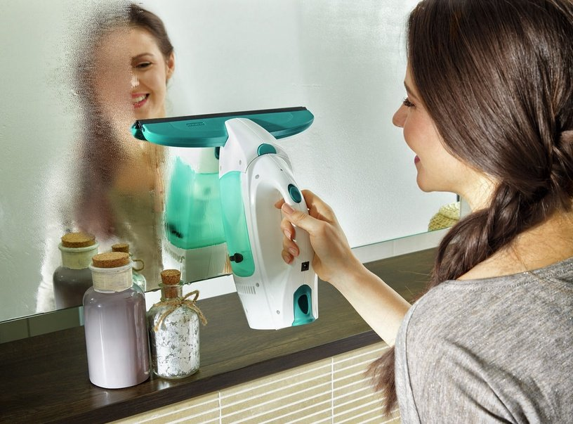 Leifheit Vacuum Window Cleaner Dry&Clean With Replaceable Nozzle