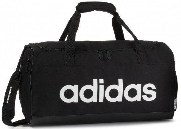 Adidas Linear Logo Duffel Bag S FL3693 Black