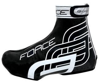 Чехол для обуви Force Rainy Moccasins, белый/черный, 40