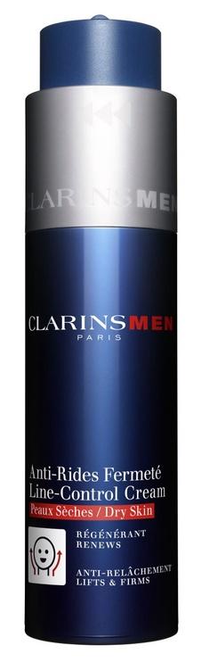 Sejas krēms Clarins Men Line-Control Cream Dry Skin, 50 ml
