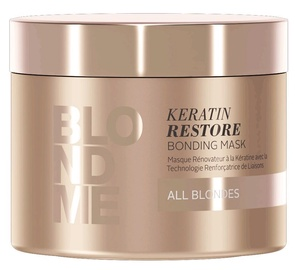 Kaukė plaukams Schwarzkopf Blond Me Keratin Bond Strengthening Mask, 200 ml