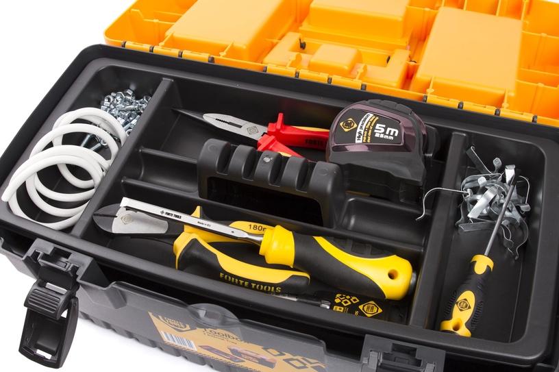 Tööriistakast Forte Tools PT-19, 48,6x26,7x24,2 cm