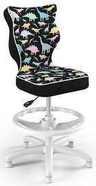 Детский стул Entelo Petit Black HC+F Size 4 ST30, черный/многоцветный, 350 мм x 950 мм