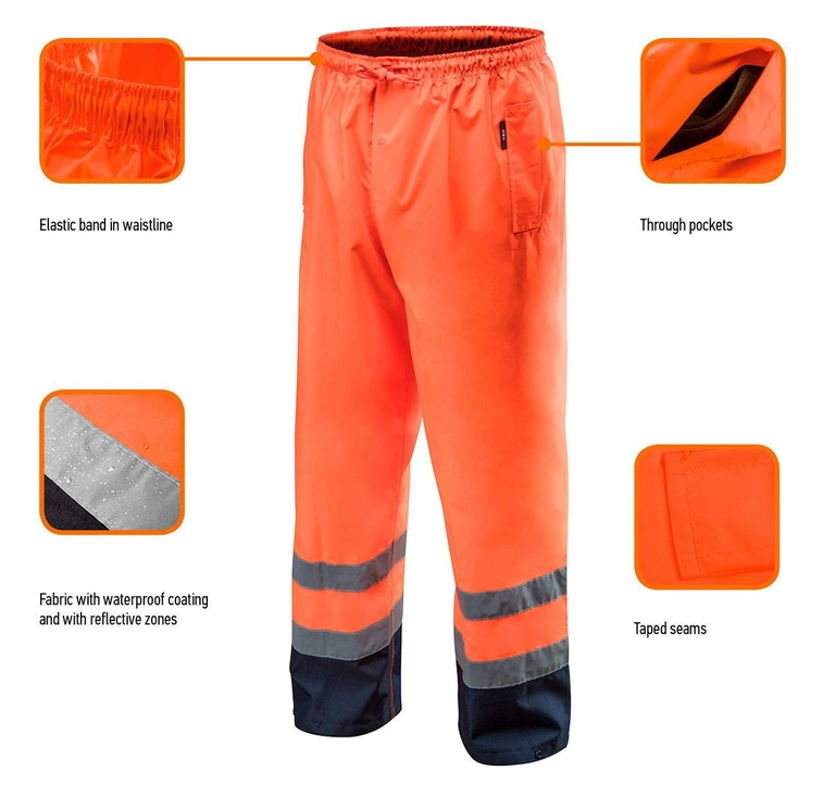 Neo 81-771 High Vision Working Trousers XXL