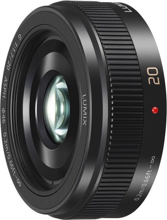 Objektyvas Panasonic Lumix G 20mm f/1.7 II ASPH Black