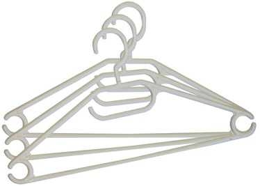 Asi Collection Hanger Set 3PCS Plastic White