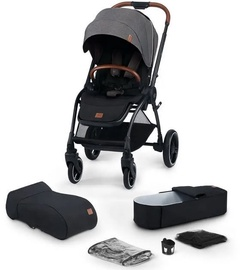 KinderKraft Evolution Cocoon 2in1 Platinum Grey