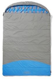 Coleman Basalt Double Sleeping Bag Grey/Blue