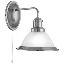 Sieninis šviestuvas Searchlight Bistro 1481SS, 1x7W, E27