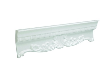 Apdailos juostelės 215033, balta, 200 x 5.9 cm