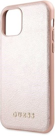 Guess Iridescent Back Case For Apple iPhone 11 Pro Max Rose Gold