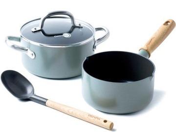 GreenPan Mayflower Pot Set 4pcs