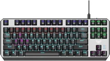 Клавиатура Aula Aegis Blue EN, серебристый