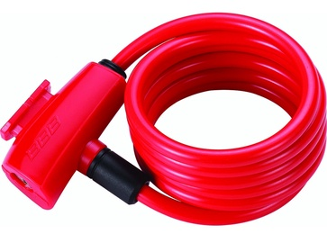 BBB Cycling BBL-61 QuickSafe Coil Cable 8mmx150cm Red