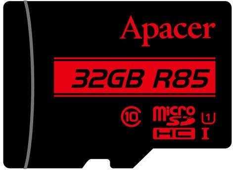 Apacer 32GB microSDHC UHS-I U1 Class 10 + SD Adapter