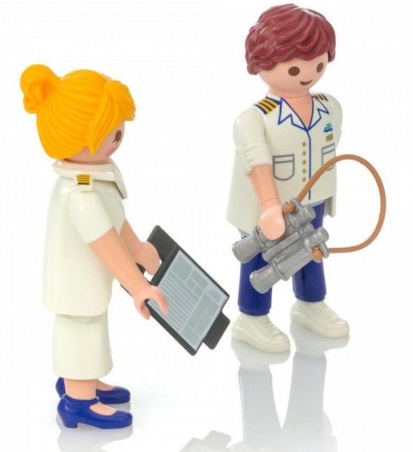 Žaislinė figūrėlė Playmobil Cruise Ship Officers 9216
