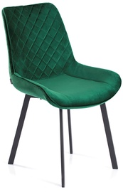 Homede Kemble Chairs 4pcs Bottle Green