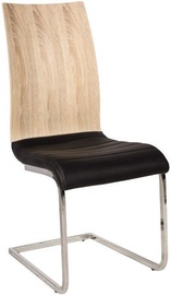 Стул для столовой Signal Meble H791 Black/Sonoma, 1 шт.