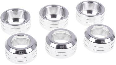 Alphacool Eiszapfen 13mm Pack of 6 Silver Matte
