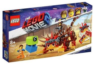 Конструктор LEGO The LEGO Movie Ultrakatty & Warrior Lucy! 70827 70827, 348 шт.