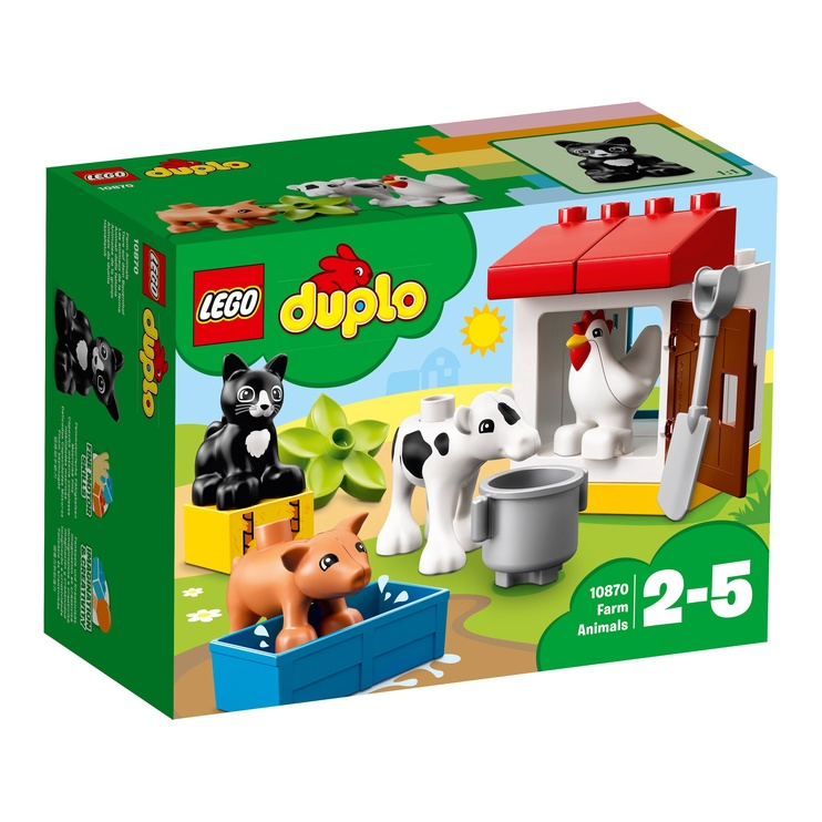 Конструктор LEGO Duplo Ферма: домашние животные 10870, 16 шт.