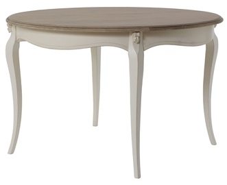 Home4you Dining Table Elizabeth Antique 05413