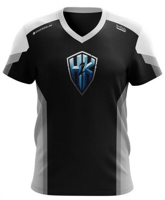Футболка H2K Jersey T-Shirt Black XXXL